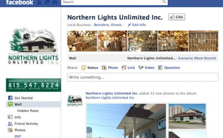 Northern Lights is now on Facebook